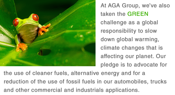 AGA Goes Green
